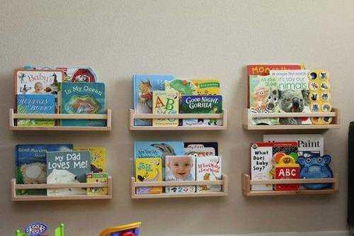 Полички для книг