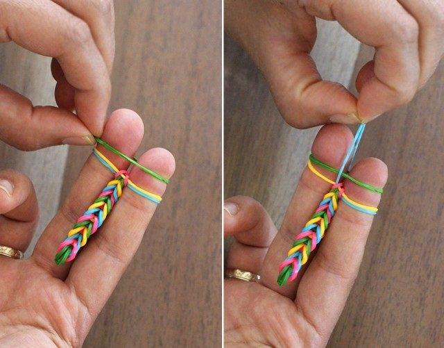 плетіння на пальцях