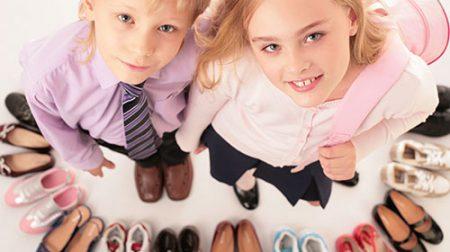 дитяча розмірна сітка взуття