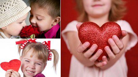 Валентинки для дітей