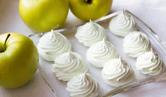 Как самим сделать яблочный зефир