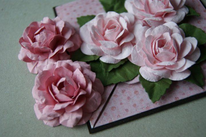 Скрапбукинг цветы из бумаги мастер