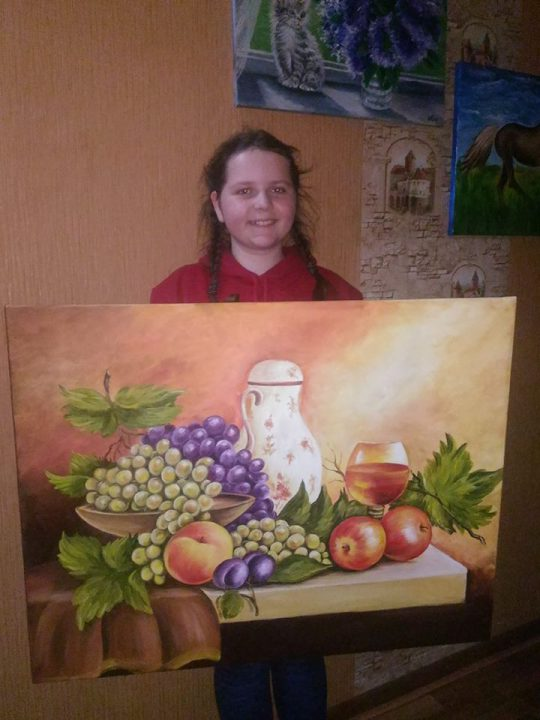 11 річна художниця