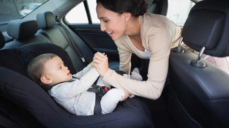 перевезення дітей в автомобілі