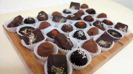 Майстер-клас Виготовлення шоколадних цукерок без Цукру