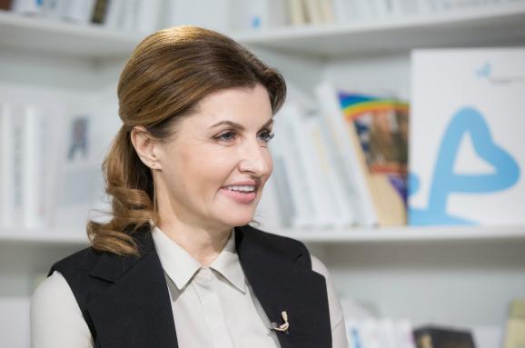 Візит МаФрини Порошенко