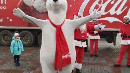 Різдвяний караван кока-кола