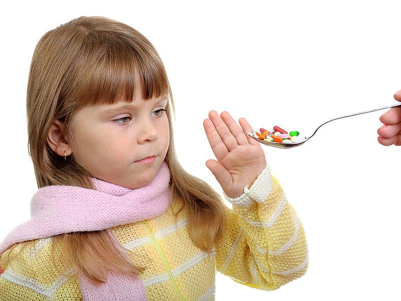 Антибиотики детям при температуре фото